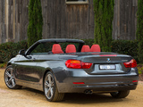 BMW 428i Cabrio Sport Line AU-spec (F33) 2014 photos