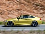 BMW M4 Coupé (F82) 2014 photos