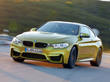 BMW M4 Coupé (F82) 2014–17 photos