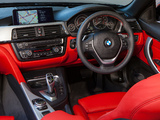 BMW 428i Cabrio Sport Line AU-spec (F33) 2014 wallpapers