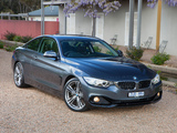 Images of BMW 428i Coupé Sport Line AU-spec (F32) 2013