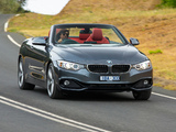 Images of BMW 428i Cabrio Sport Line AU-spec (F33) 2014