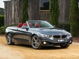 Photos of BMW 428i Cabrio Sport Line AU-spec (F33) 2014
