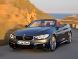 Pictures of BMW 435i Cabrio M Sport Package (F33) 2013