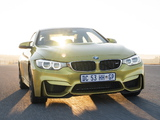 Pictures of BMW M4 Coupé ZA-spec (F82) 2014