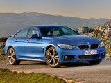 Pictures of BMW 428i Gran Coupé M Sport Package (F36) 2014