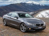 BMW 428i Coupé Sport Line AU-spec (F32) 2013 wallpapers
