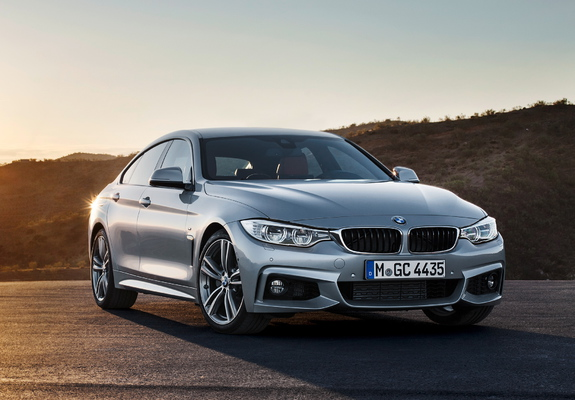 BMW 435i Gran Coupé M Sport Package (F36) 2014 wallpapers