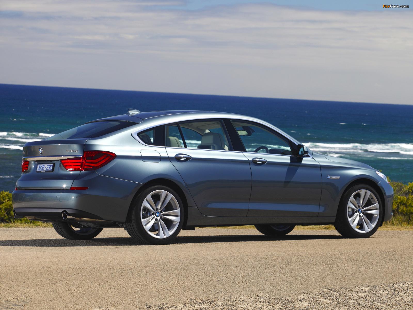 BMW 535i Gran Turismo AU-spec (F07) 2009–13 images (1600 x 1200)