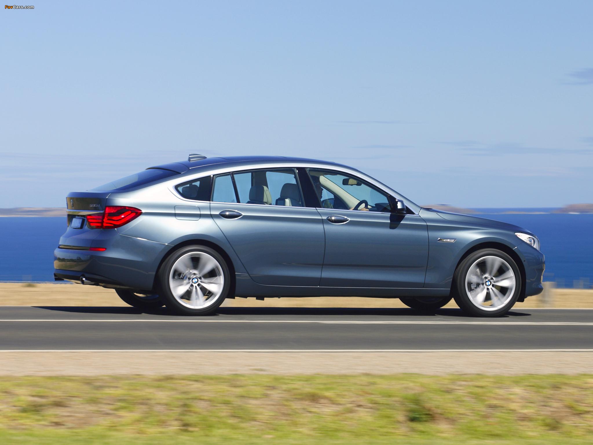 BMW 535i Gran Turismo AU-spec (F07) 2009–13 images (2048 x 1536)