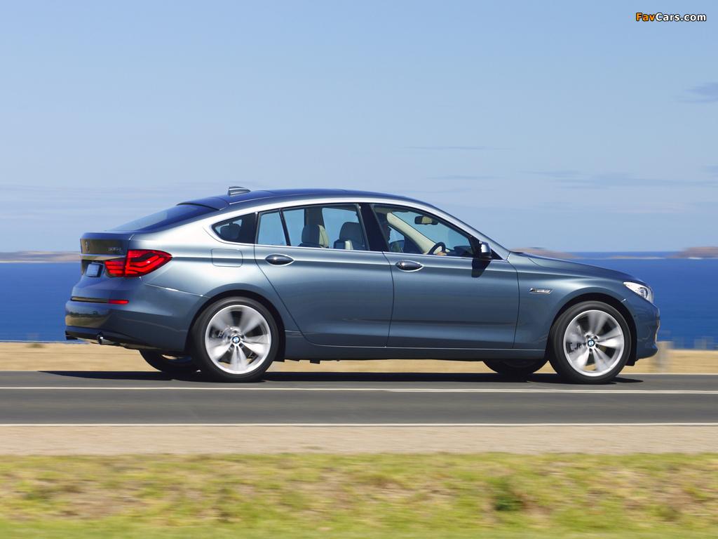 BMW 535i Gran Turismo AU-spec (F07) 2009–13 images (1024 x 768)