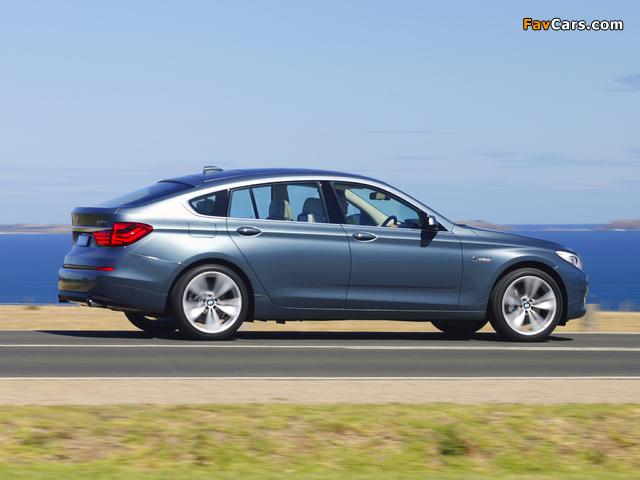 BMW 535i Gran Turismo AU-spec (F07) 2009–13 images (640 x 480)