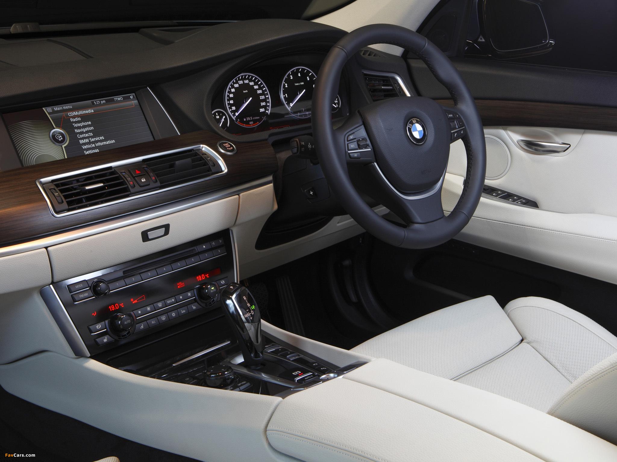 BMW 535i Gran Turismo AU-spec (F07) 2009–13 pictures (2048 x 1536)