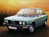 BMW 520 Sedan (E12) 1972–75 images