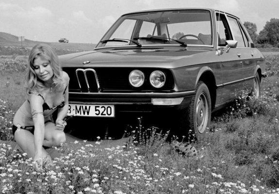 Bmw 520 Sedan E12 197276 Pictures