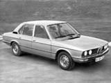 BMW 520 Sedan (E12) 1972–76 pictures