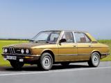 BMW 525 Sedan (E12) 1976–81 photos