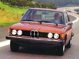 BMW 528i Sedan US-spec (E12) 1978–81 photos