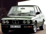 BMW 520i Sedan (E28) 1981–87 images