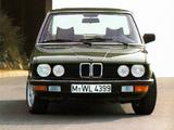 BMW 520i Sedan (E28) 1981–87 wallpapers
