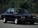 BMW 5 Series Sedan US-spec (E28) 1982–88 pictures