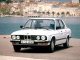BMW 524td (E28) 1983–87 images