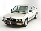 BMW 525e UK-spec (E28) 1983–87 photos