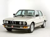 BMW 525e UK-spec (E28) 1983–87 pictures