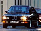 BMW 524d (E28) 1986–87 photos