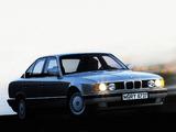 BMW 535i Sedan (E34) 1988–93 images