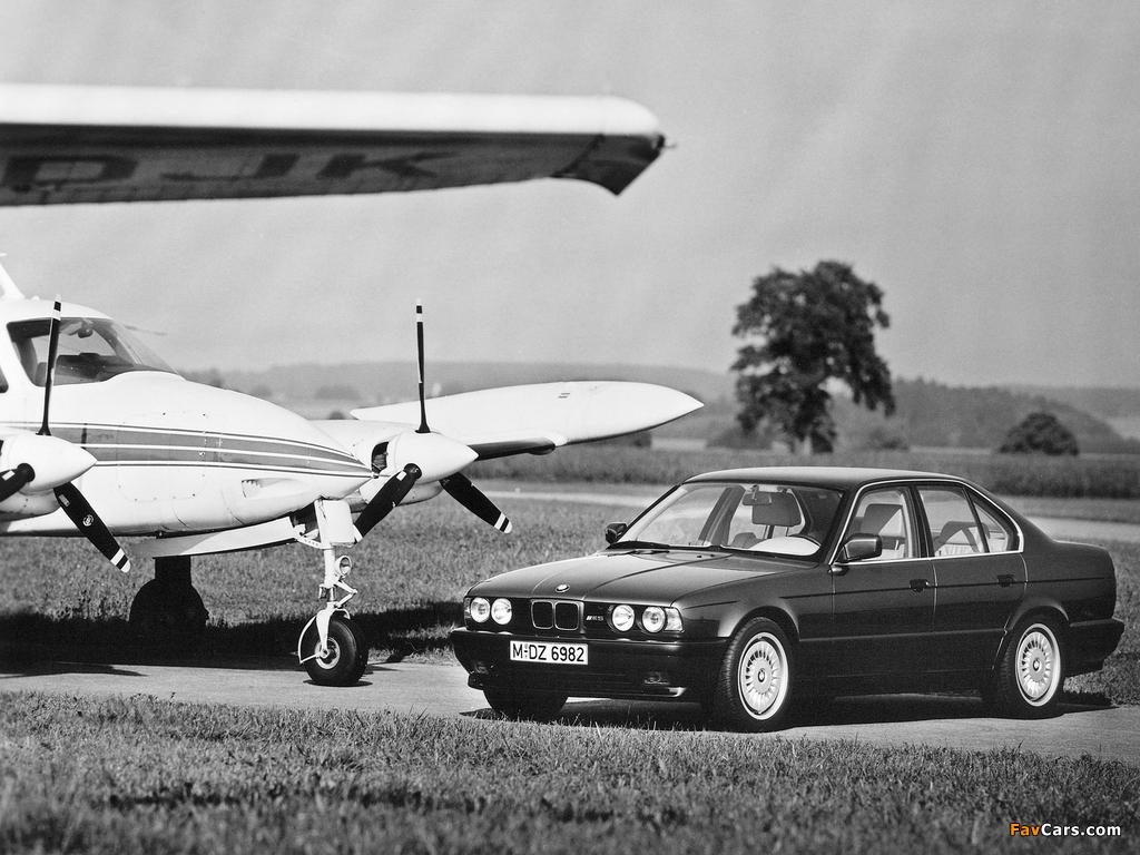 BMW M5 (E34) 1988–92 images (1024 x 768)