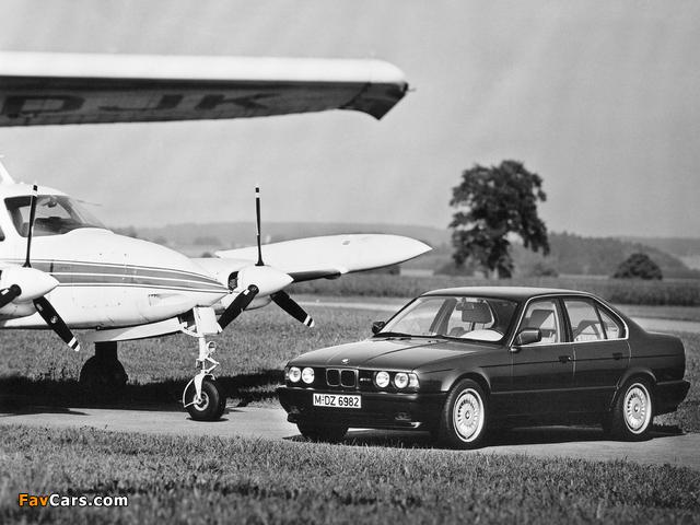 BMW M5 (E34) 1988–92 images (640 x 480)