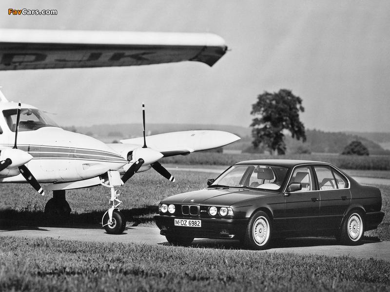 BMW M5 (E34) 1988–92 images (800 x 600)