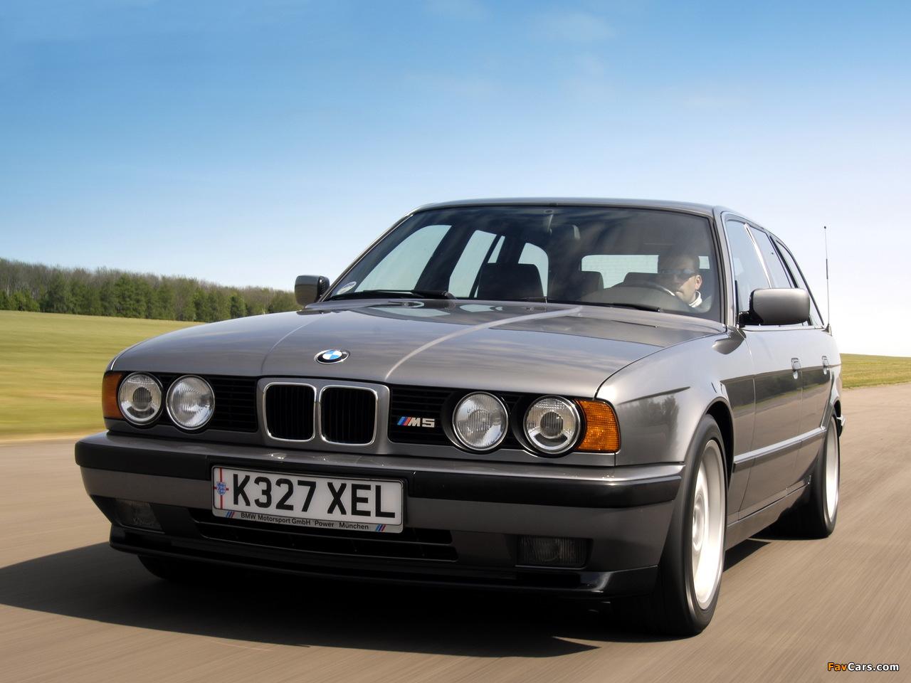 BMW M5 Touring (E34) 1992–94 images (1280 x 960)