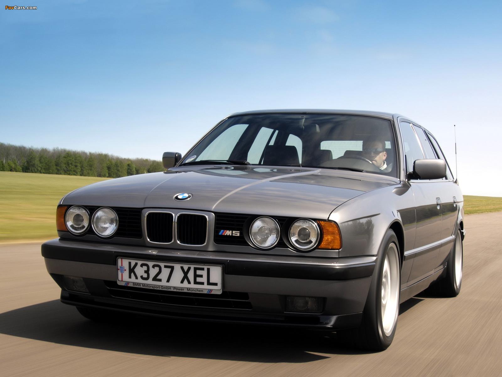 BMW M5 Touring (E34) 1992–94 images (1600 x 1200)