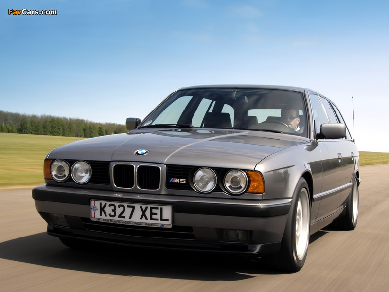 BMW M5 Touring (E34) 1992–94 images (800 x 600)
