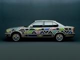 BMW 525i Art Car by Esther Mahlangu (E34) 1992 pictures