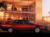BMW 530i Sedan (E34) 1992–95 wallpapers