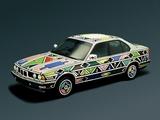 BMW 525i Art Car by Esther Mahlangu (E34) 1992 wallpapers