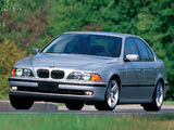 BMW 540i Sedan US-spec (E39) 1996–2003 images
