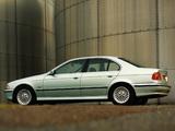 BMW 540i Sedan UK-spec (E39) 1996–2000 images