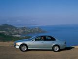 BMW 540i Sedan (E39) 1996–2000 pictures
