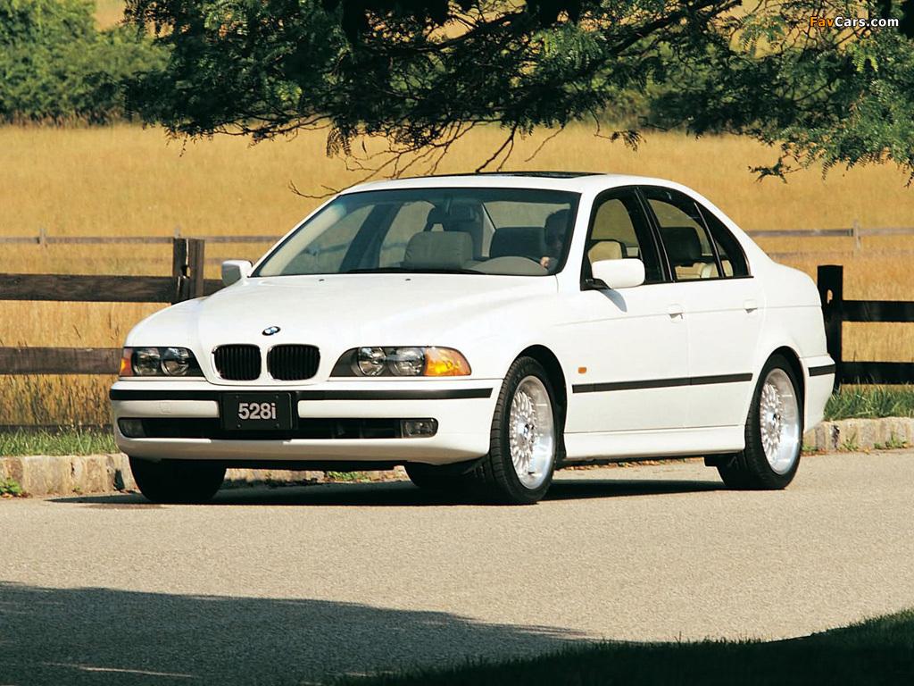 BMW 528i Sedan US-spec (E39) 1996-2000 wallpapers (1024x768)