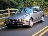 BMW 540i Touring (E39) 1997–2000 images
