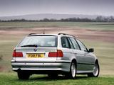 BMW 525tds Touring UK-spec (E39) 1997–2000 photos