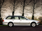 BMW 525tds Touring UK-spec (E39) 1997–2000 wallpapers