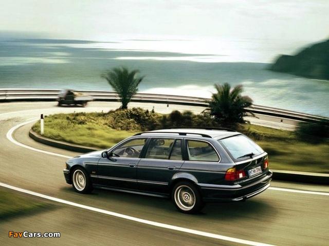 BMW 540i Touring (E39) 1997–2004 wallpapers (640 x 480)