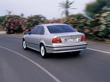 BMW 530d Sedan (E39) 1998–2003 images