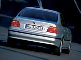 BMW 530d Sedan (E39) 1998–2003 photos