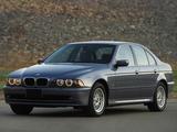 BMW 530i Sedan US-spec (E39) 2000–03 images